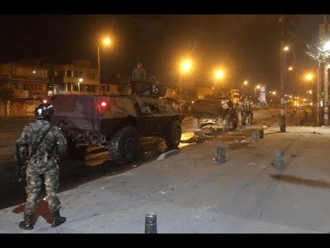 Inicia toque de queda en Bogota - Noticias Caracol