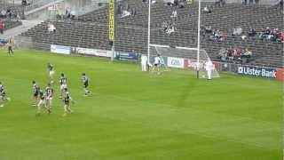 Adam Gallaghers Penalty Goal For Mayo Minors Against Sligo