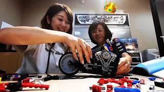 【LEGO HARLEY DAVIDSON】作ってみた!