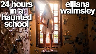 24 Hours in the Most HAUNTED SCHOOL in America with Real Ghost Hunters *Scary*