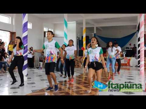 Apresentação de jovens de Palmatória no DNJ em Itapiúna