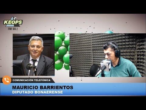 El diputado Barrientos cuestionó a Vidal por el endeudamiento en la Provincia
