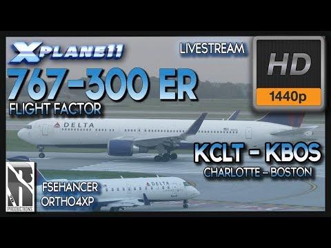 X-Plane 11] FF B767-300ER: Scariest Landing I've Ever