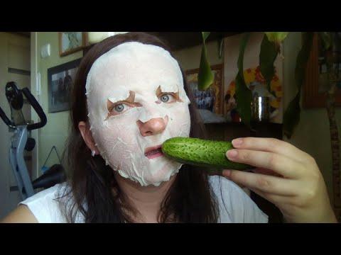 Огуречная маска для лица/ Уход 30+