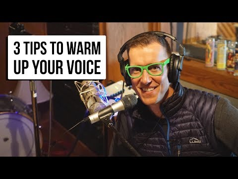 3 Tips to Warm up Your Voice - Public Speaking | Finding Equalman Show