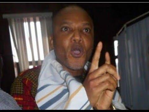 Buhari Can NOT Intimidate me, am a Biafran - Nnamdi Kanu Thunders