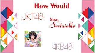 【How Would】 JKT48 Sings Sustainable by AKB48
