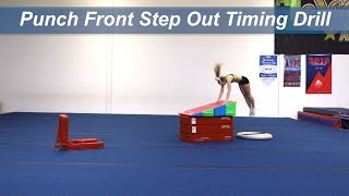 Punch Front Step Out Timing Drill