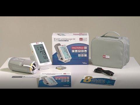 Richtig Blutdruckmessen und Vorhofflimmern erkennen mit aponorm® Professionell Touch