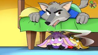 Der Wolf und die sieben Geißlein | KONDOSAN Hörspiel zum einschlafen | Märchen für Kinder Folge 14