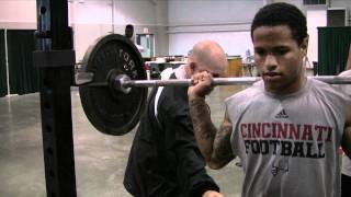 preview picture of video 'Cincinnati Bearcats Strength Training @ Camp Higher Ground'