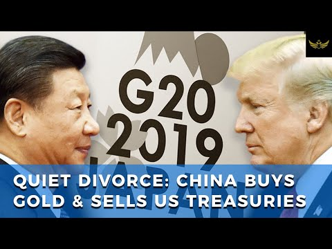 Trade war quietly escalates, as China buys gold & dumps US treasuries
