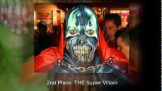 Duval Street Key West Florida   Fantasy Fest 2013 Best Face Painting