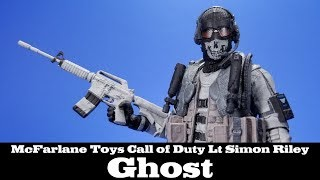 #CallofDuty Ghost Lt Simon Riley McFarlane Toys GameStop Action Figure Review