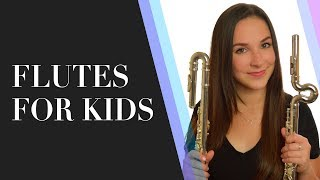 Curved Head Flutes - Flutes For Kids