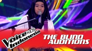"Salma ""To Be With You"" I The Blind Auditions I The Voice Kids Indonesia GlobalTV 2016"