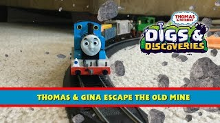 Thomas & Friends: All Tracks Lead to Rome - Thomas and Gina Escape the Old Mine [Remake Clip]