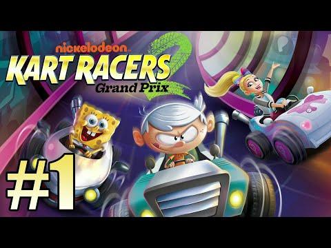 Gameplay de Nickelodeon Kart Racers 2: Grand Prix