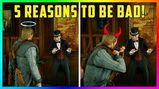 5 Reasons Why Being A Bad, Dishonorable Outlaw Is BETTER In Red Dead Redemption 2! (RDR2)