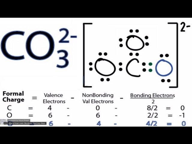 Lewis Dot Diagram Of Co32 Custom Wiring Diagram