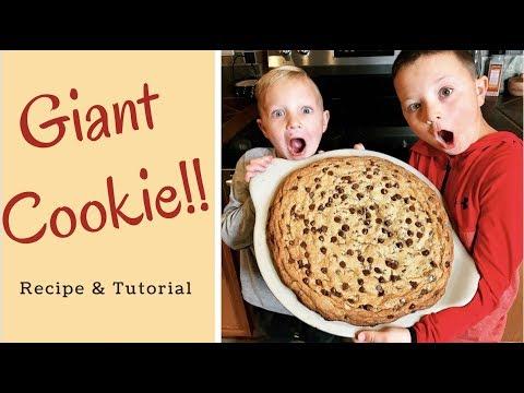 GIANT Cookie | Recipe & Tutorial | Easy & DELICIOUS!