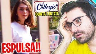 IL COLLEGIO 4: REAZIONE ALLA QUINTA PUNTATA!! (Addio Dorelfi)