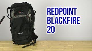 RedPoint Blackfire 20 / черный/красный - відео 2