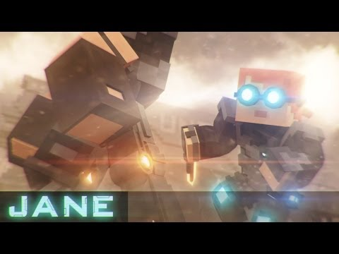 Jane - Minecraft Animation [RUS/ENG Sub]
