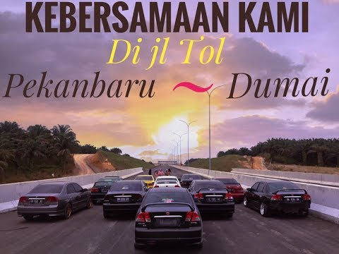TEST DRIVE JL TOL PEKANBARU-DUMAI || Civic Generation Pekanbaru
