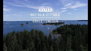 Safe approach to Axmar port in Gävle, Sweden