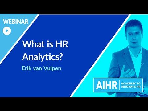 What is HR Analytics? | AIHR [WEBINAR] - YouTube