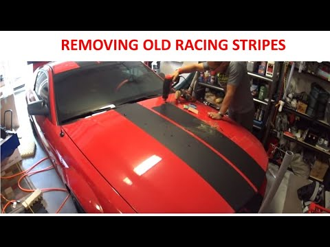 My Experience Removing Old Racing Stripe Decals