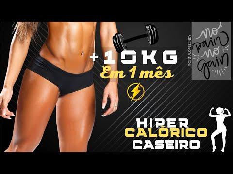 HIPERCALRICO CASEIRO  *ENGORDA?*