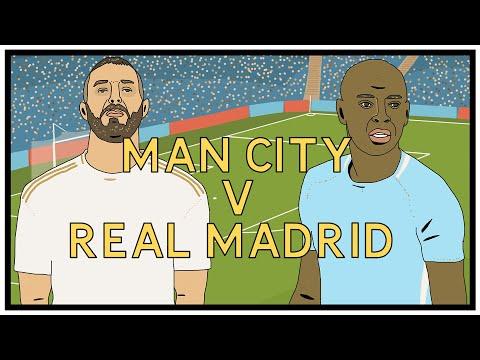 Man City v Real Madrid – A Tactical View