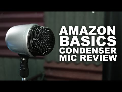 AmazonBasics Desktop Mini Condenser Microphone Review / Test