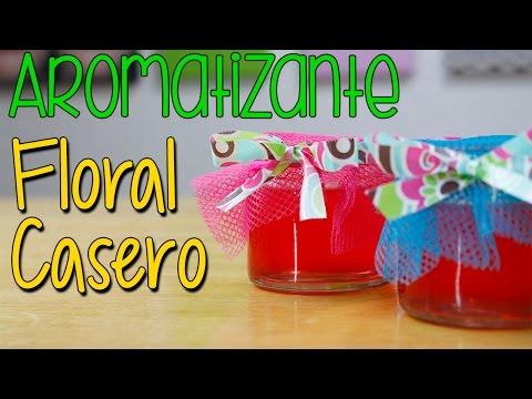 Como hacer Aromatizantes Ambientales Caseros - En Gel - Aroma Floral - Catwalk