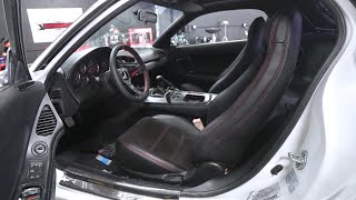 RX-7 SEATS RESTORED IN ALCANTARA AND LEATHER