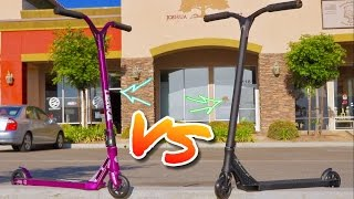 LIGHTEST ETHIC SCOOTER VS STREET FLAVOR SCOOTER - SCOOTER UNBOXING