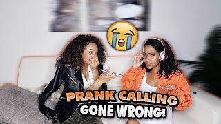 WE PRANK CALLED PEOPLE BUT WE CAN'T HEAR THEM!