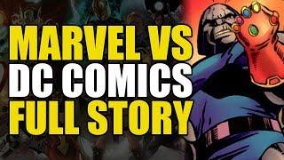 Marvel Vs DC Full Story: Marvel Vs DC To Avengers Vs Justice League   Comics Explained