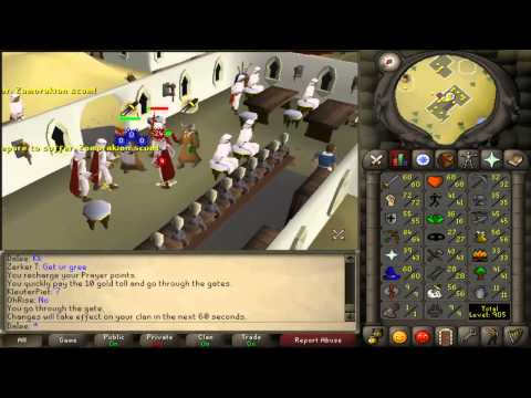 Video 10tabs - Runescape 2007 1-99 melee training guide