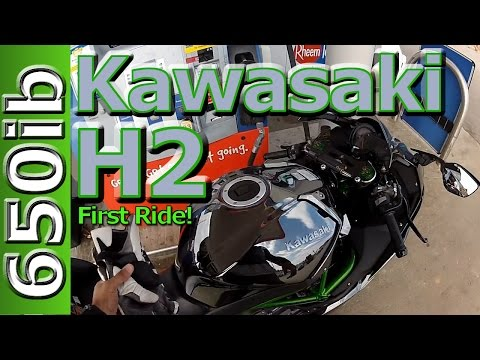 Kawasaki H2 First Ride Motovlog: ZX14R & ZX10R SMACKDOWN!!!