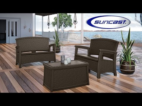 ... the Suncast ELEMENTS Collection comprises a versatile selection of furniture and accessories to mix and match so you can create the perfect outdoor ... & Outdoor Furniture 101 - Suncast® Corporation