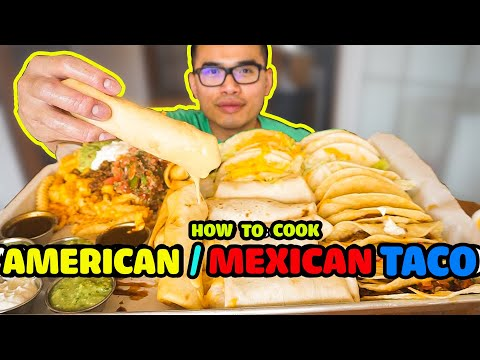 How to cook AMERICAN / MEXICAN TACOS