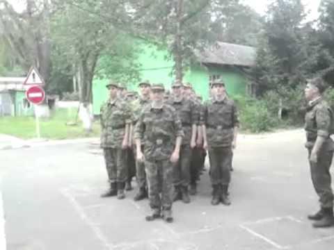 The Russian Military Marching To 'SpongeBob SquarePants'