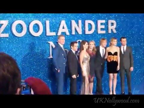 Zoolander2: London Premiere 4.2.16