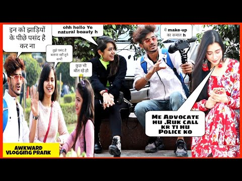Funny Vlogging Prank || Prank on Girls || Pranks 2019 || SAHIL KHAN Production