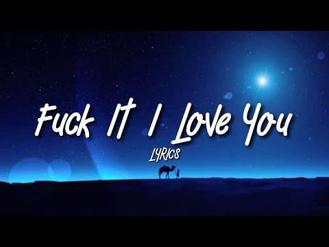 Lana Del Rey F**k It I Love You