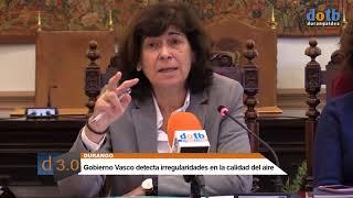 dotb Calidad del aire en Durangaldea según el Gobierno vasco