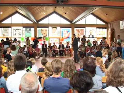 Verkiezingsdebat basisschool Canadas met Emile Roemer